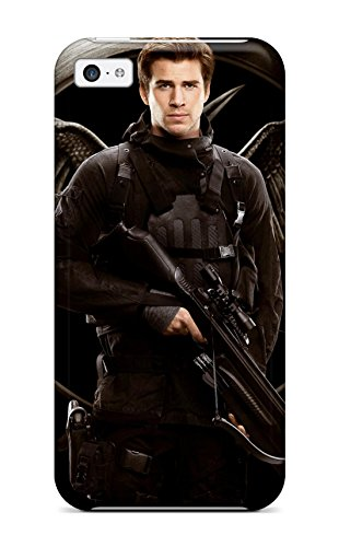 Chris Marions's Shop 2153419K97045598 Protection Case For Iphone 5c / Case Cover For Iphone(liam Hemsworth As Gale Hawthorne)