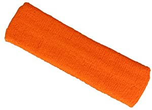 Bandeau éponge sport orange