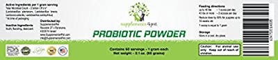 Probiotic Powder for Dogs Guarantees Health by keeping digestive Issues and Yeast Infections away..Promotes Immune Health . All Natural. Made in the USA . 100% Satisfaction Guarantee.