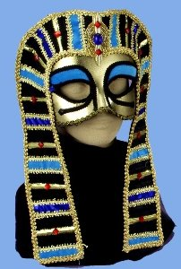 Egyptian Cleopatra Mask and Headdress Adult Accessory