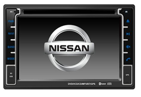 Car DVD Player GPS Navigation for Nissan Murano 2002-2011 / Nissan Sentra 2007-2011 / Nissan Patrol 2004-2010, Steering Wheel Control
