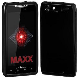 Cimo Gloss Soft TPU Case for Motorola DROID RAZR MAXX, XT912 Verizon - Black