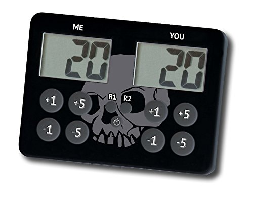 Legion Supplies Legion Lifecalc - Iconic Skull Standard Life / Score Keeper For Magic The Gathering And Other Games