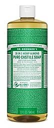 Dr. Bronner\'s Magic Soaps 18-in-1 Hemp Pure-Castile Soap Almond 32 fl oz