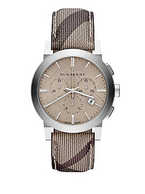 Burberry BU9361 Watch City Mens - Champagne Dial Stainless Steel Case Quartz Movement