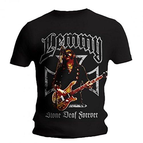 Motorhead-Maglietta, motivo: Iron Cross Lemmy nero 42
