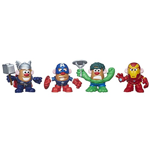 Mr. Potato Head Marvel Mixable Mashable Heroes Super Hero Collector Pack (Avengers) (Marvel Potato Head compare prices)