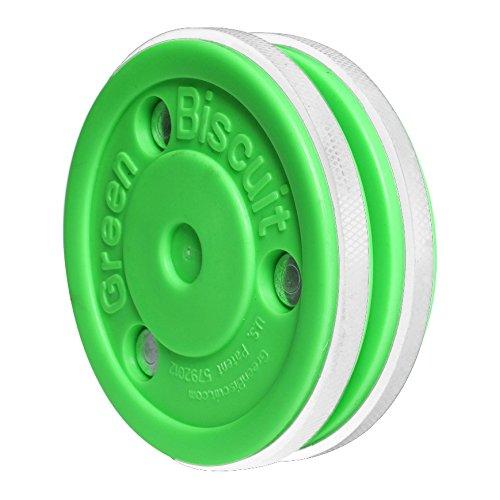 Vert-Sherwood-Palet-de-Hockey-sur-glace--biscuits-dentranement-Pro