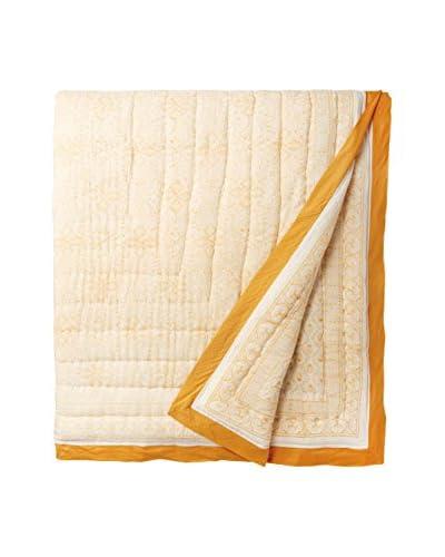 Yala Designs Organic Cotton Block Print Quilt
