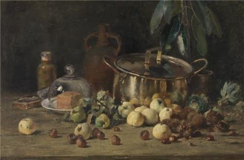 Oil Painting 'Still Life By Eugeen Joors, In The Second Half Of 19th Century' 10 x 15 inch / 25 x 39 cm , on High Definition HD canvas prints is for Gifts And Hallway, Kids Room And Study Room decor (25 Steam Wallet Card compare prices)