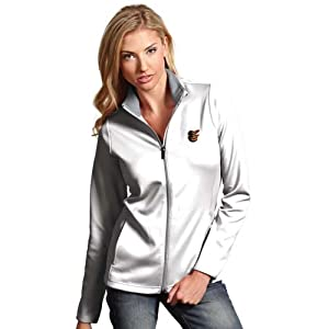 Baltimore Orioles Ladies Leader Jacket (White) by Antigua