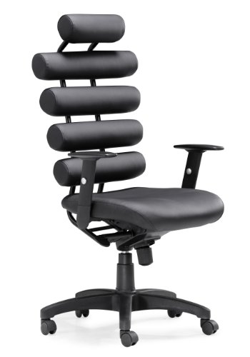 Zuo Unico Office Chair, Black