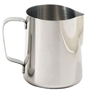 Rattleware 12-Ounce Latte Art Milk Frothing Pitcher