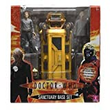 DOCTOR WHO SANCTUARY BASE SET WITH 2 OODS 1 TOBY 1 DR AND LIFT CAGE