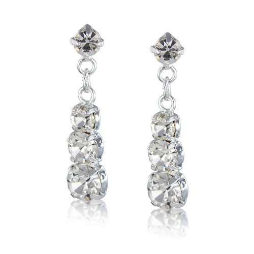 Cute Diamante Earrings, Costume Jewellery Earrings
