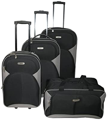 Nowi Wheeled Luggage Set / 3 Luggage Cases / 1 Travel Bag