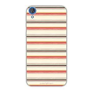 Designer Phone Covers - HTC 820-RetroStripes