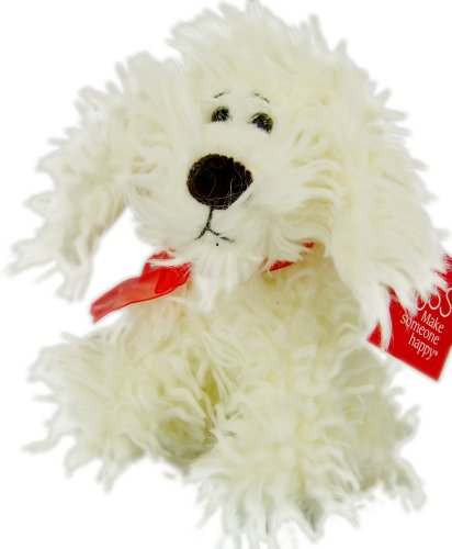 "Small ""Curly"" Dog Plush Toy - 1"