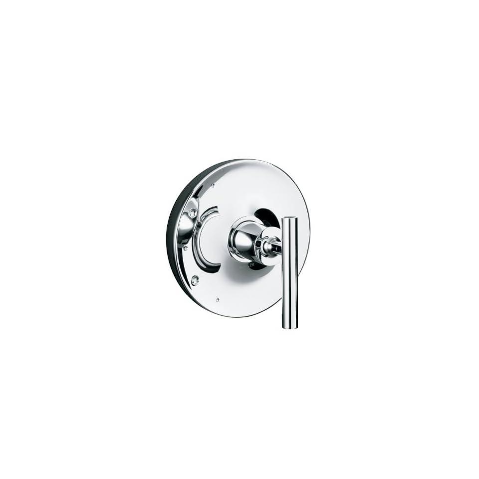 KOHLER Purist Polished Chrome 1 Handle Tub & Shower Faucet with Single