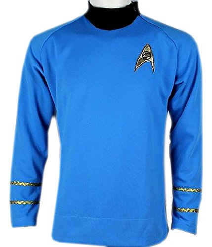 Star Trek Spock Classic Shirt Costume Uniform