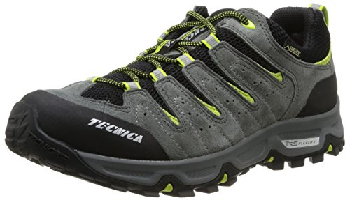 Tecnica, Tempest Low GTX MS, Scarpe sportive, Uomo, Grigio (Canna Fucile Lime), 40.5