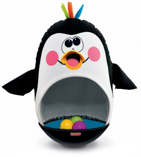 Fisher-Price Go Baby Go! Bat and Wobble Penguin (Fisher Price Roll And Go compare prices)