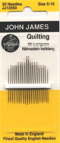 Quilting/Betweens Hand Needles-Size 5/10 20/Pkg (Hand Quilting Needles Size 11 compare prices)