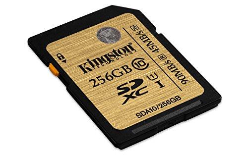 Kingston SDA10/256GB profesional SD-Karte UHS-I SDHC/SDXC Klasse 10 Speicherkarte