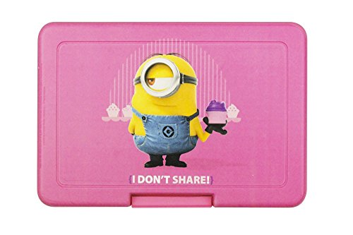 Minions Porta Merenda Lunch Box I Don't Share Case (12)