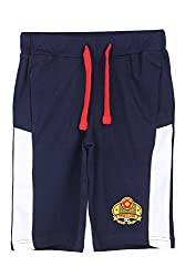 Ajile by Pantaloons Boy's Cotton Shorts (205000005612097, Blue, 7-8 Years)