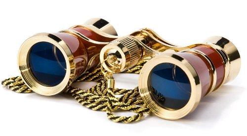 BARSKA Blueline 3x25 Opera Glass w/ Necklace 0