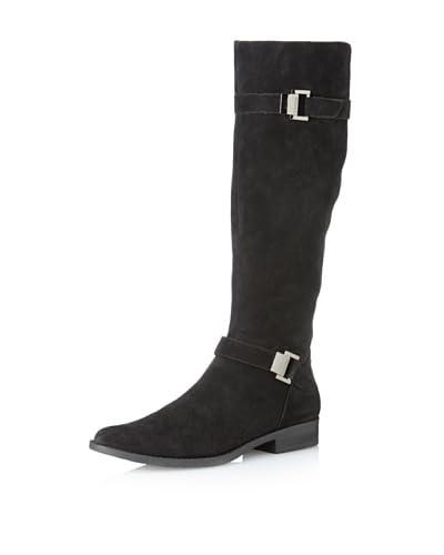 Calvin Klein Women's Teresa Suede Riding Boot