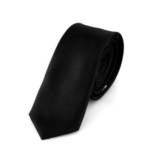 schmale schwarze handgefertigte krawatte 5 cm verschiedene farben w hlbar. Black Bedroom Furniture Sets. Home Design Ideas