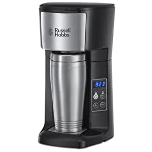 Russell Hobbs 22630 Brew & Go Coffee Maker Brews ground coffee Permanent coffee filter No paper ...