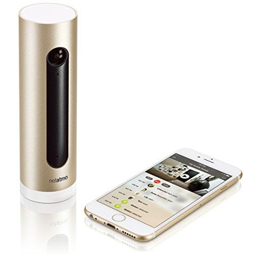 【日本正規代理店品・保証付】Netatmo Welcome 顔認識システム付 Wi-Fiホームカメラ NET-OT-000007a