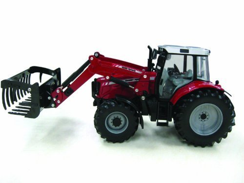 Britains 42761 1:32 Scale Massey Ferguson 6480 Tractor With Frontloader By Britains