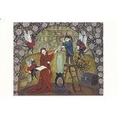 ねこの引出し 横山裕子ポストカード「バラ咲く頃の魔女の家」