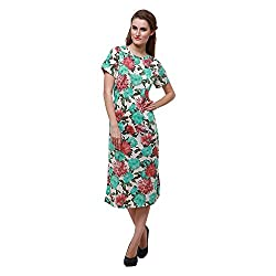 Oshea Women's Cotton Gown (Floral)
