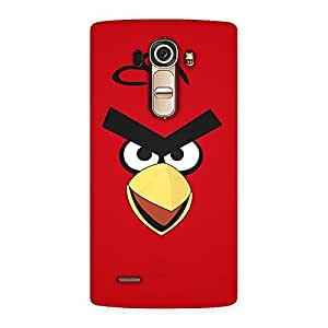 Special Red Yelo Peak Back Case Cover for LG G4