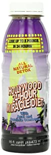 Hollywood All Natural 24-Hour Miracle Diet 16-Ounce Bottles