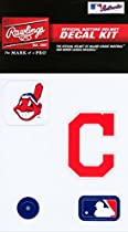 Rawlings Sporting Goods MLBDC Decal Kit, Cleveland Indians