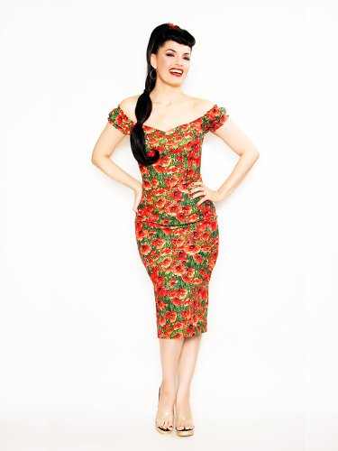 What Katie Did BD05 Scarlett Poppy Dress