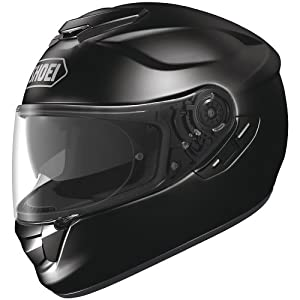 Shoei Solid GT-Air Street Racing Motorcycle Helmet - Black / Medium