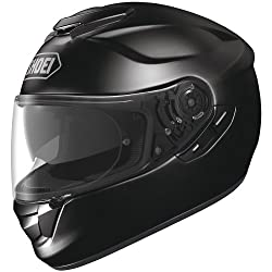 Shoei Solid GT-Air Street Racing Motorcycle Helmet - Black / Small