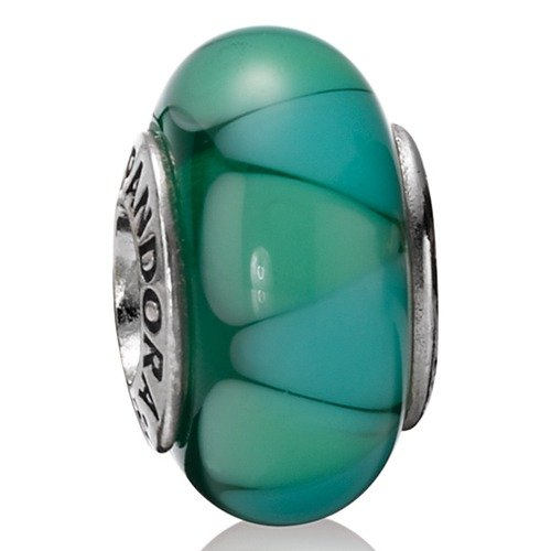 Pandora Damen-Bead  Sterling-Silber 925 Muranoglaskugel KASI 79636