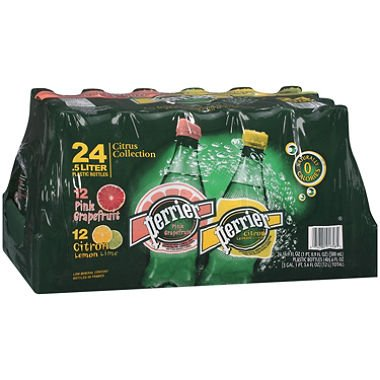 Perrier® Sparkling Natural Mineral Water Citrus Collection - 24/16.9oz Plastic Bottles