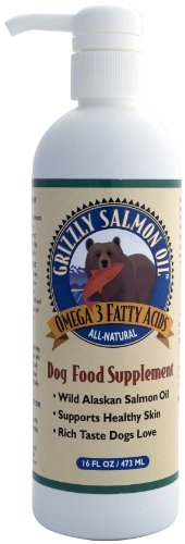 Grizzly Salmon Oil for Cats and Dogs 500 ml