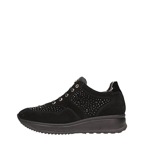 Andrea Morelli B73894A Sneakers Donna Crosta Nero Nero 39