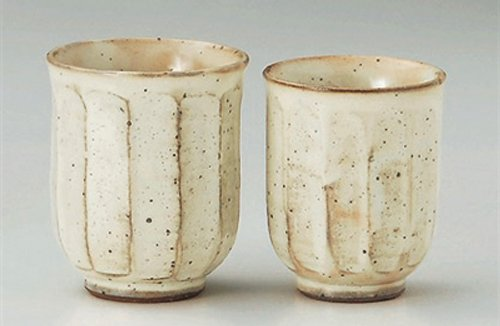 Kobiki-Mentori 3Inches Pair Of Tea Cups Jiki Japanese Original Porcelain