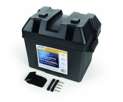 Camco 55362 Standard Battery Box-Group 24